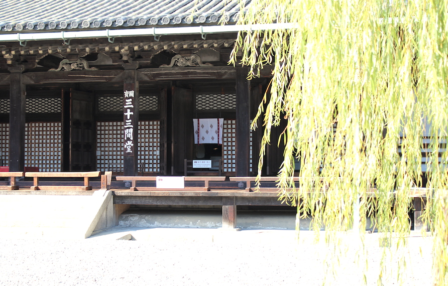 【京都洛東】京都駅から徒歩圏内!三十三間堂と智積院