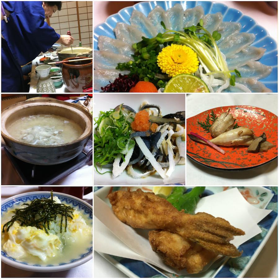 fugu dinner