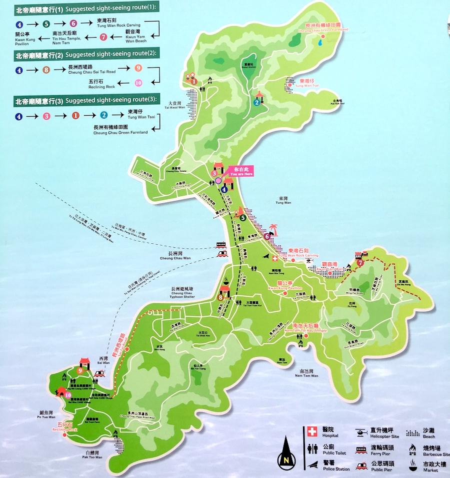 cheung chau map