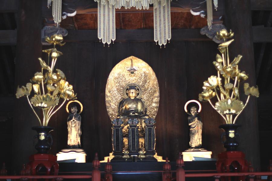 kenninji buddha statues