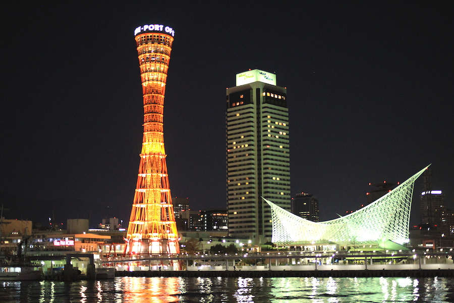 kobe night view1