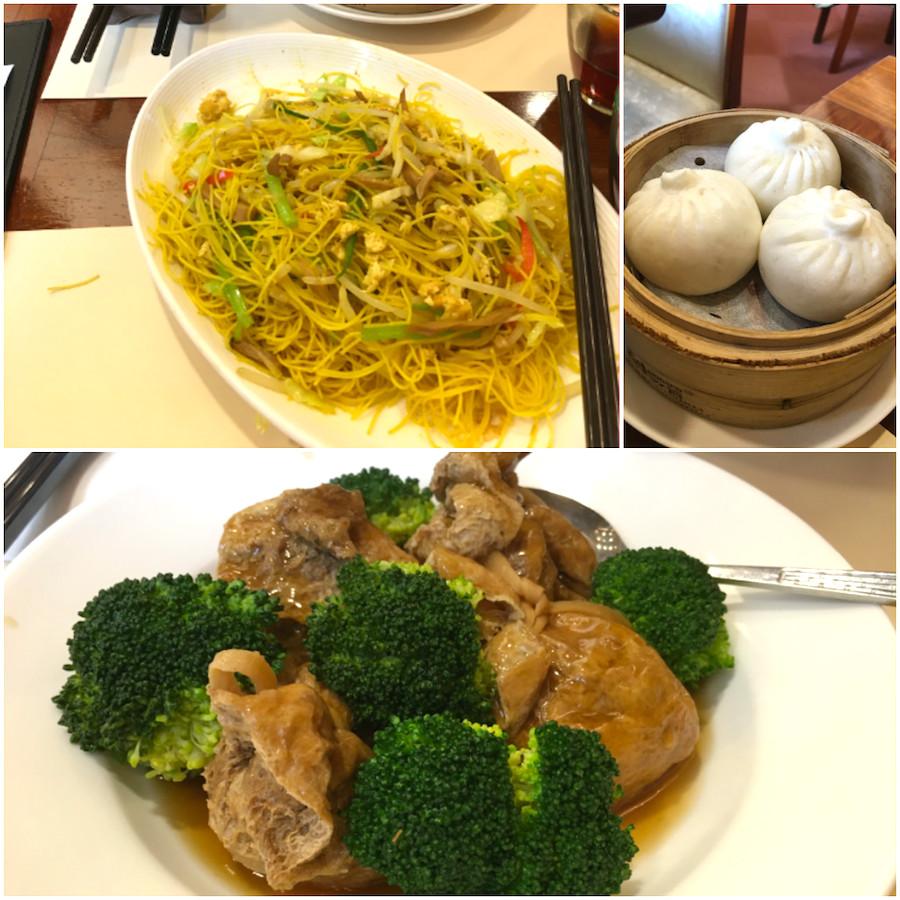 chi lin vegetarian meals