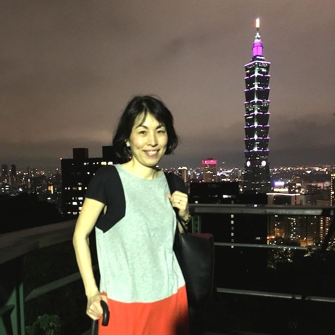 at Xiangshan lookout