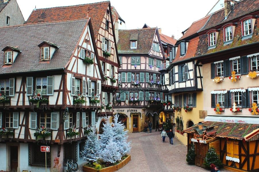 【フランス】冬旅に最適なスポットまとめ(クリスマスマーケット&スキーリゾート)