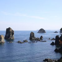 【山口】奇岩のある海岸線風景を撮影したいなら青海島へ行かなきゃ