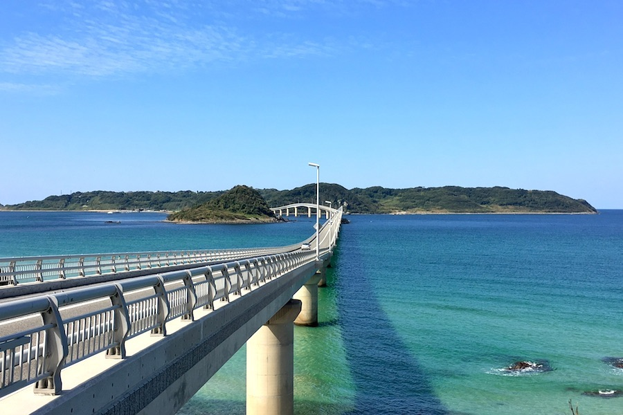 【山口】まるで沖縄な風景が楽しめる人気の写真スポット角島大橋