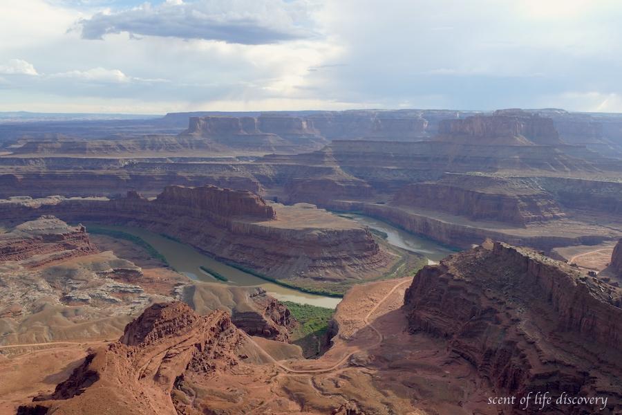 【アメリカ】見逃せないデッドホースポイント州立公園はキャニオンランズ国立公園とセットで