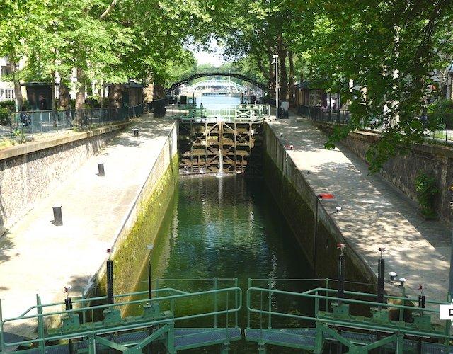 【パリ】映画「アメリ」ロケ地のひとつ「サン・マルタン運河」周辺はお散歩に最適